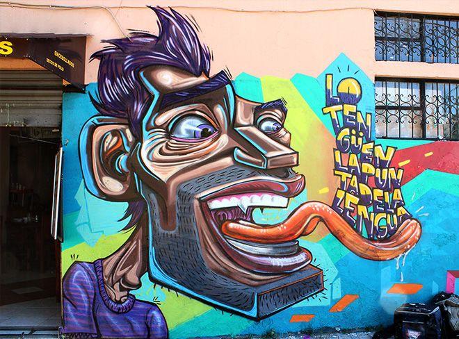 Apitatan Ecuador Xx Street Art Love Best Street Art Street