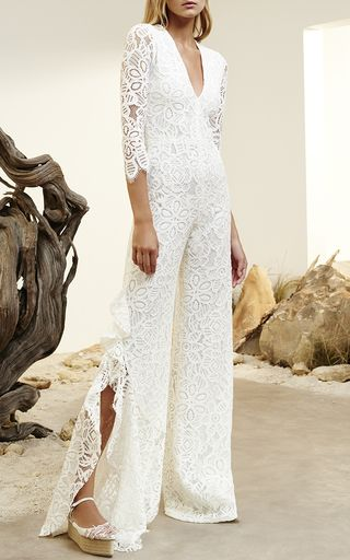 bc2933ac8e Rosario Lace Jumpsuit by ALEXIS for Preorder on Moda Operandi ...