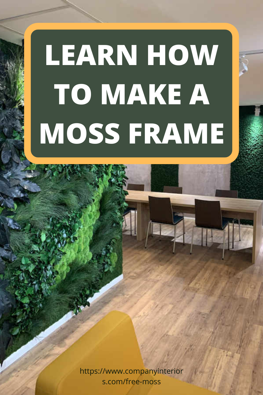 How To Make A Moss Frame Preserved Moss Moss Wall Preserved Moss Wall Frames Diy