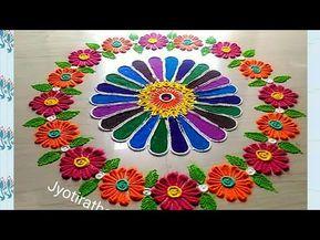 Beautiful amazing innovative rangoli design by maya unique creative kolam and also megha patel meghapatel on pinterest rh