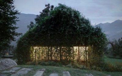 Green Box, Alpi Retiche, studio d'architettura italiano Act Romegialli,