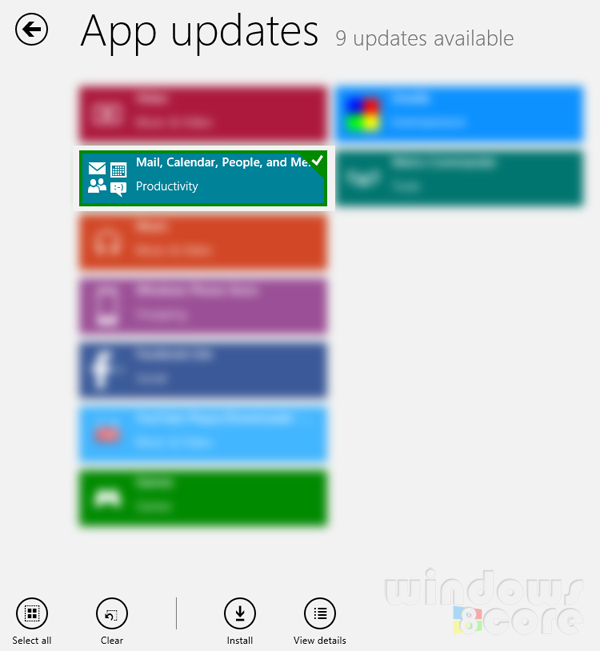 Microsoft updates the Mail, People and Calendar apps of