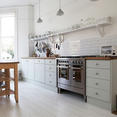 Kitchen Tiles Country Style Home