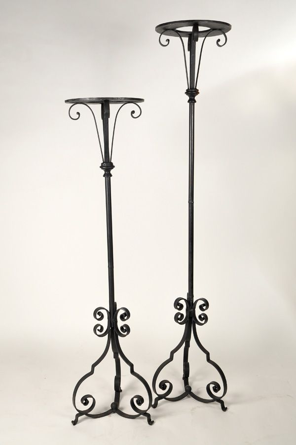 Wrought Iron Flower Pedestal Plant Stands 60 70 Iron