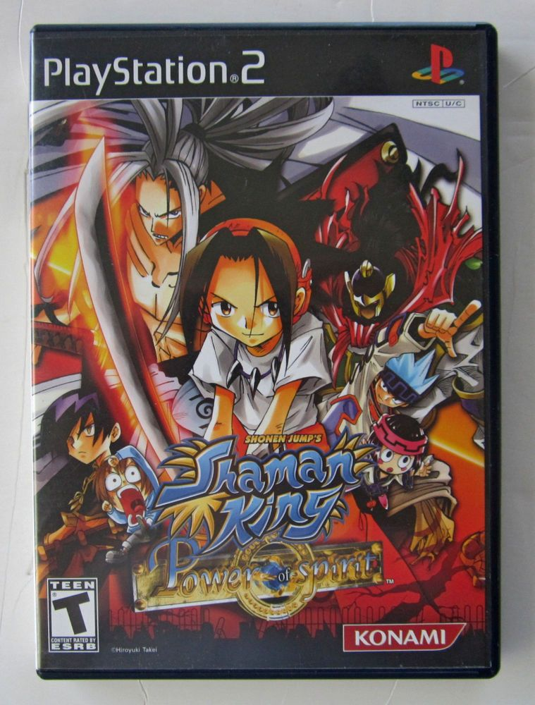 Shaman King Power of Spirit (Sony PlayStation 2, 2004