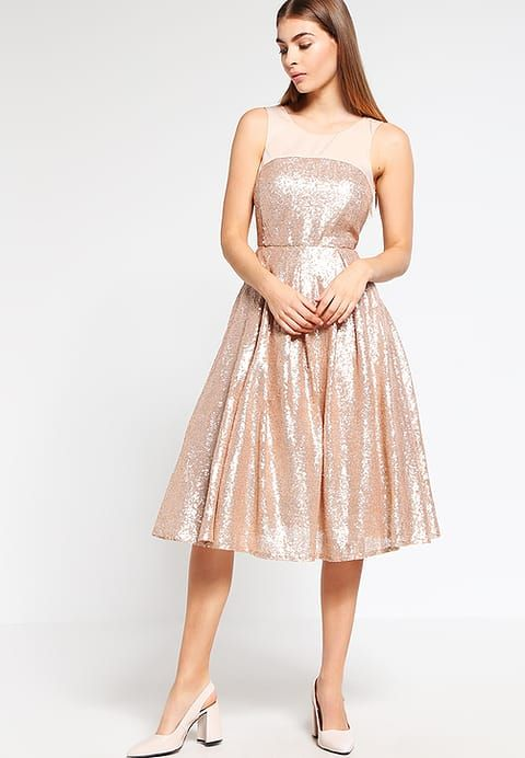 mint&berry Cocktailkleid / festliches Kleid - rose gold - Zalando.de ...