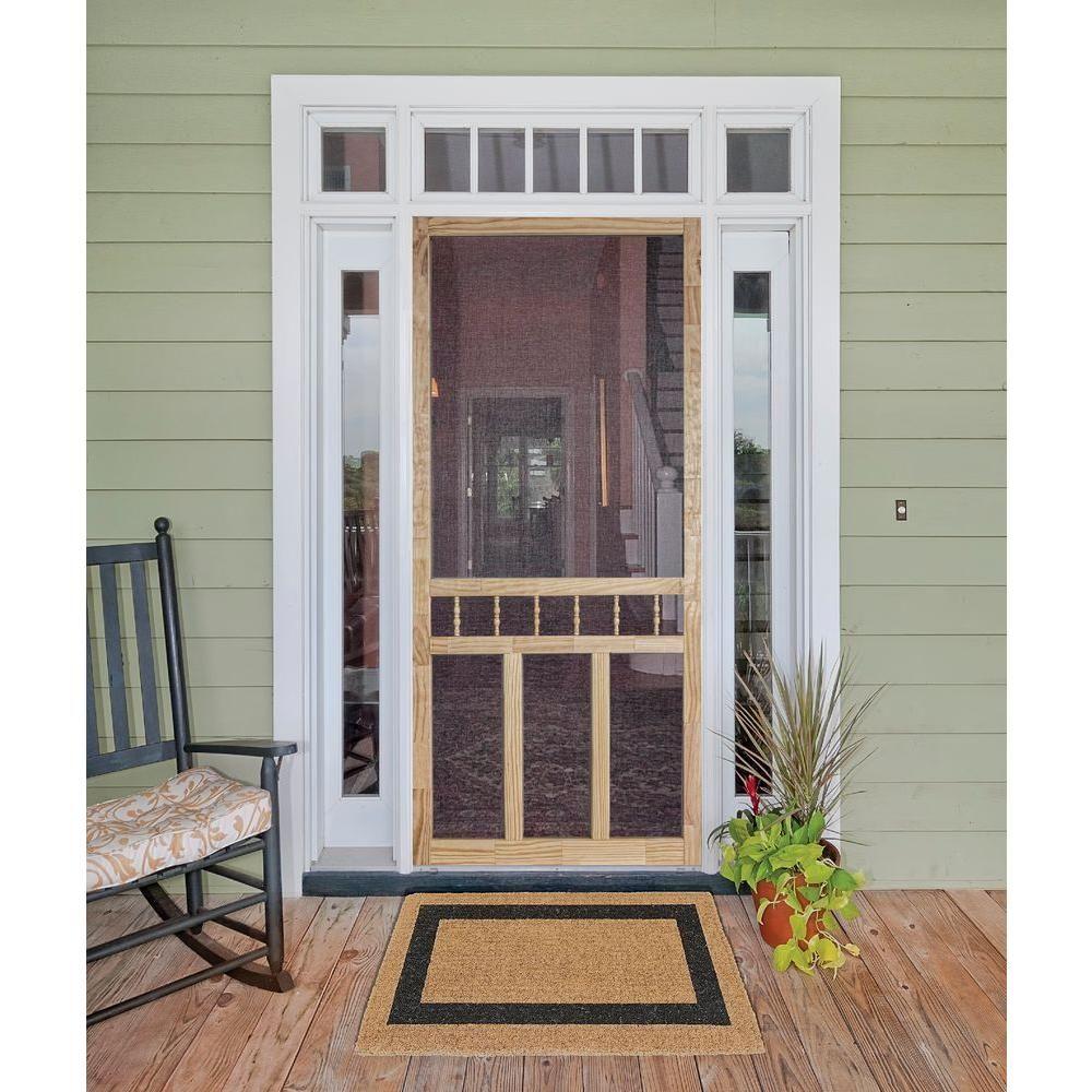Null 32 In X 80 In Wood Classic Screen Door Pinterest Doors