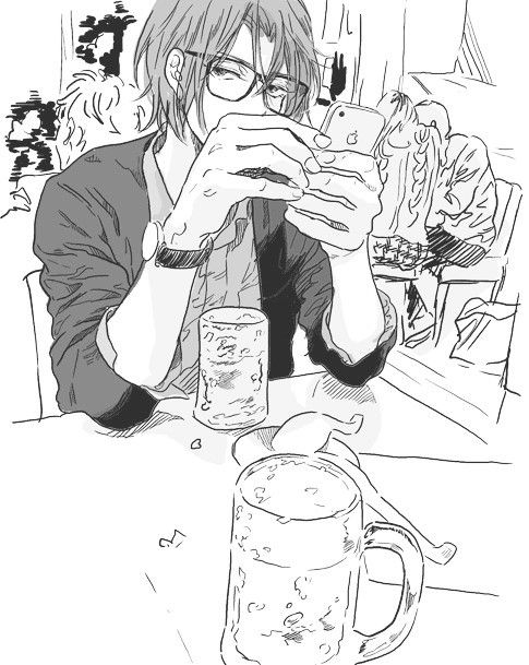 Rin Matsuoka Free And Black And White Image Free Anime Free Iwatobi Anime Gou matsuoka ( matsuoka g?) is rin's younger. rin matsuoka free and black and