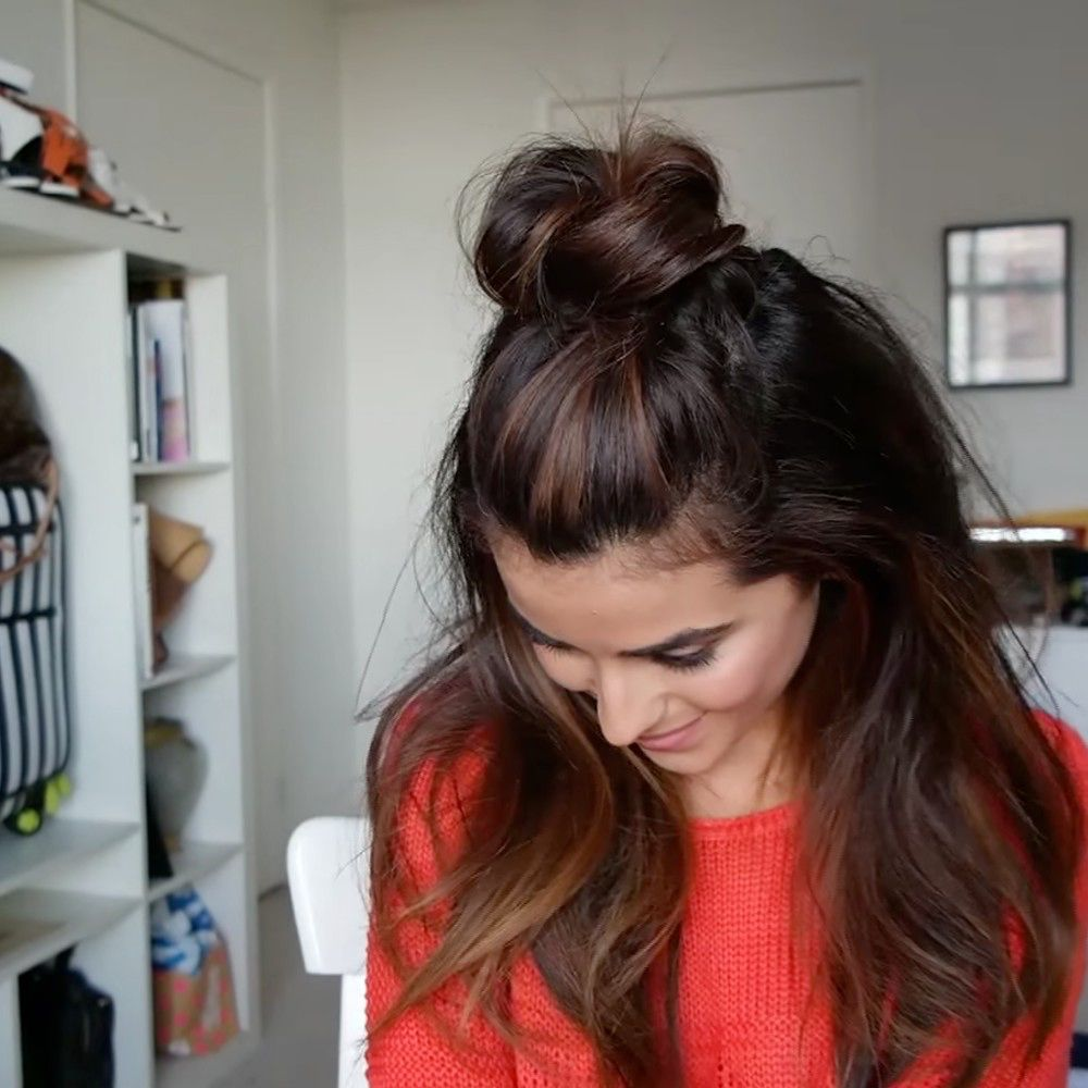Best 25+ Hairstyles For Greasy Hair Ideas On Pinterest