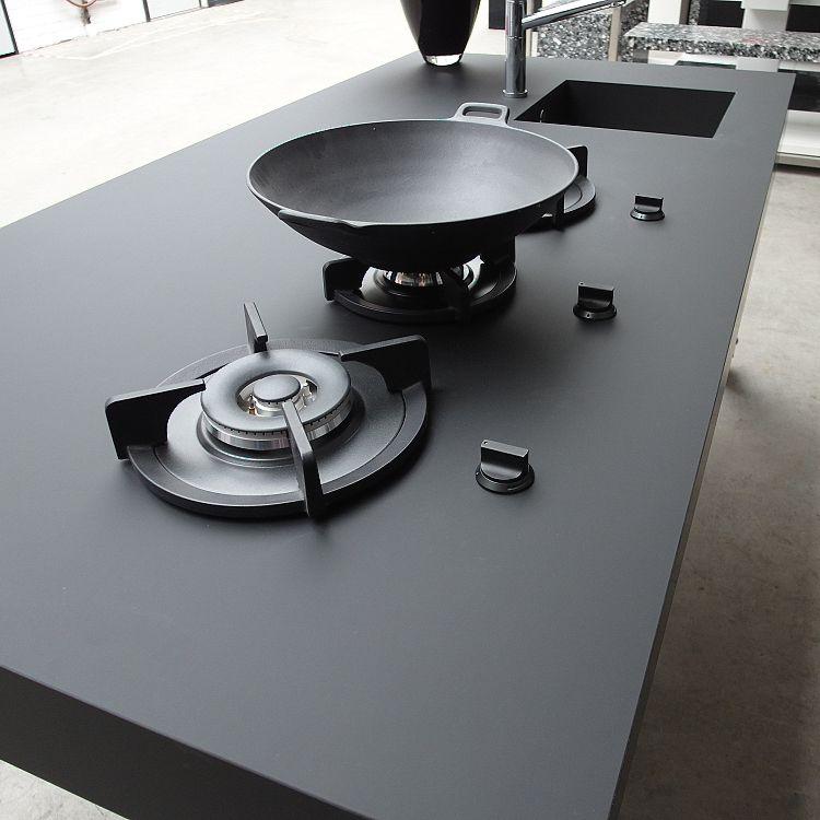 Ladefronten en deuren arpa fenix ultramat nero f nix for Muebles de cocina fenix