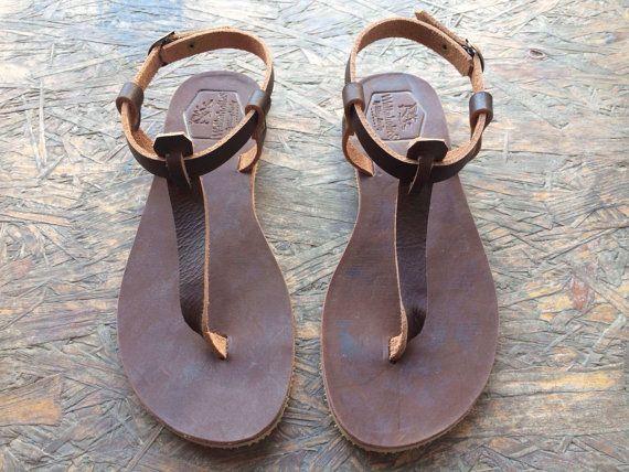 bd7864f90 Brown Leather Sandals for Women   Men - Design 5 - Handmade Leather Sandals