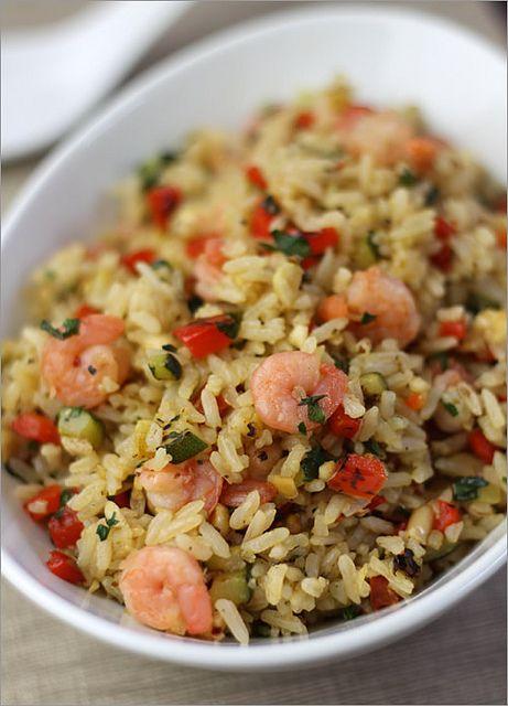 Thai shrimp & Peanut Fried Rice