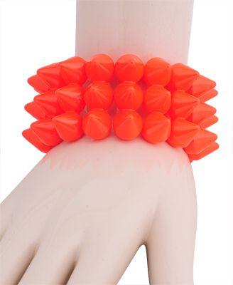 Spiked Stretchy Bracelet | FOREVER21 - 1000043206
