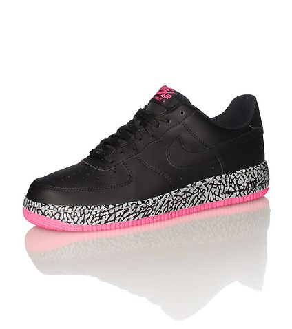 NIKE Air Force One Low top men's sneaker Lace up closure