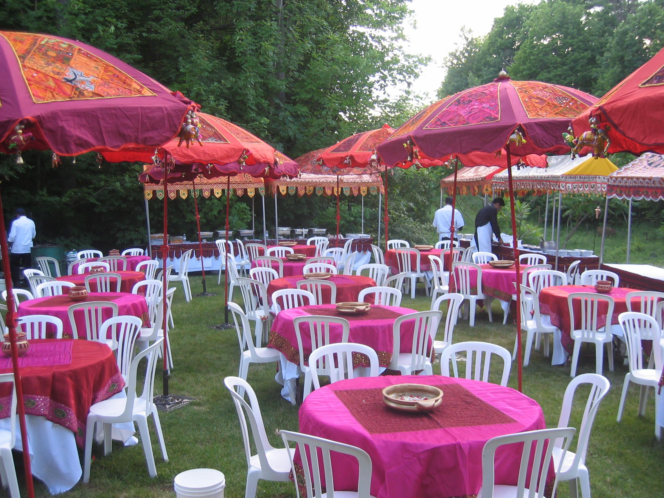 decorative umbrellas for weddings outdoor indian colourful umbrellas toronto weddings 3465