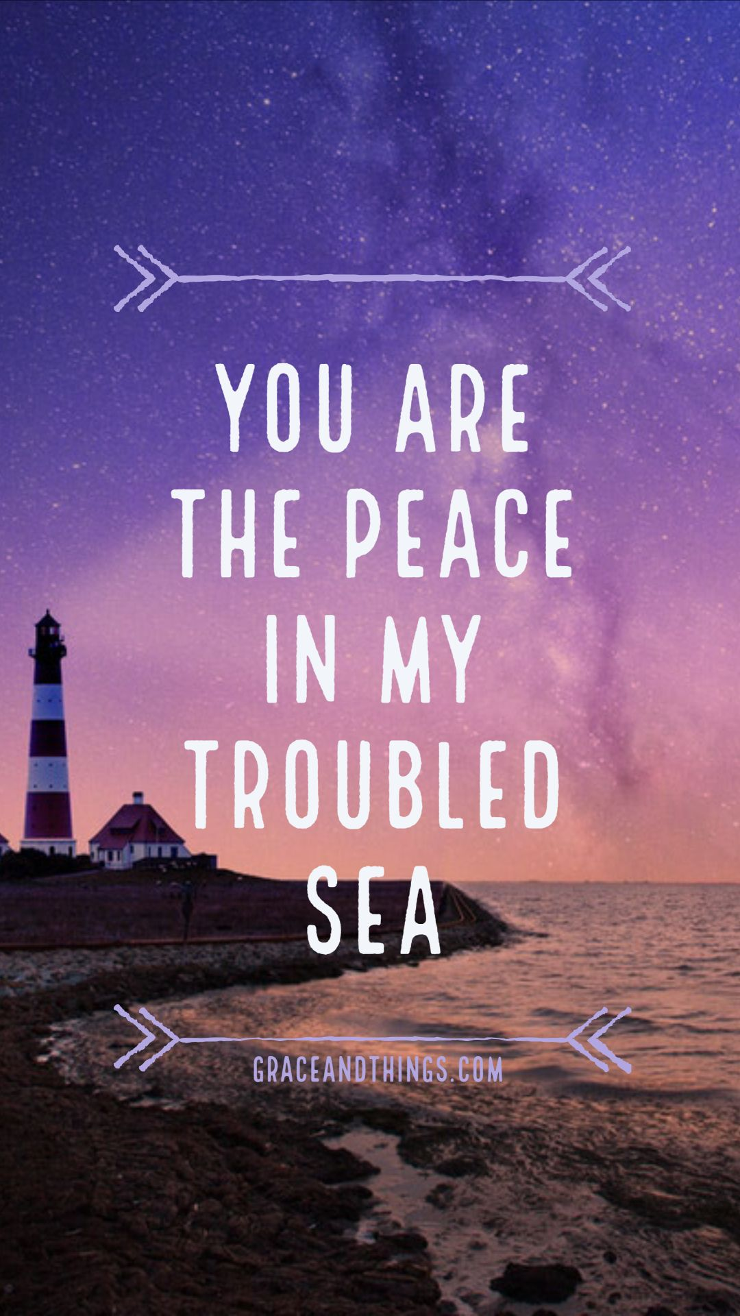 Rendcollective Lighthouse Peace Iphone Quote Inspiration Wallpaper Smartphone Sea Oce Bible Verse Wallpaper Wallpaper Quotes Free Christian Wallpaper