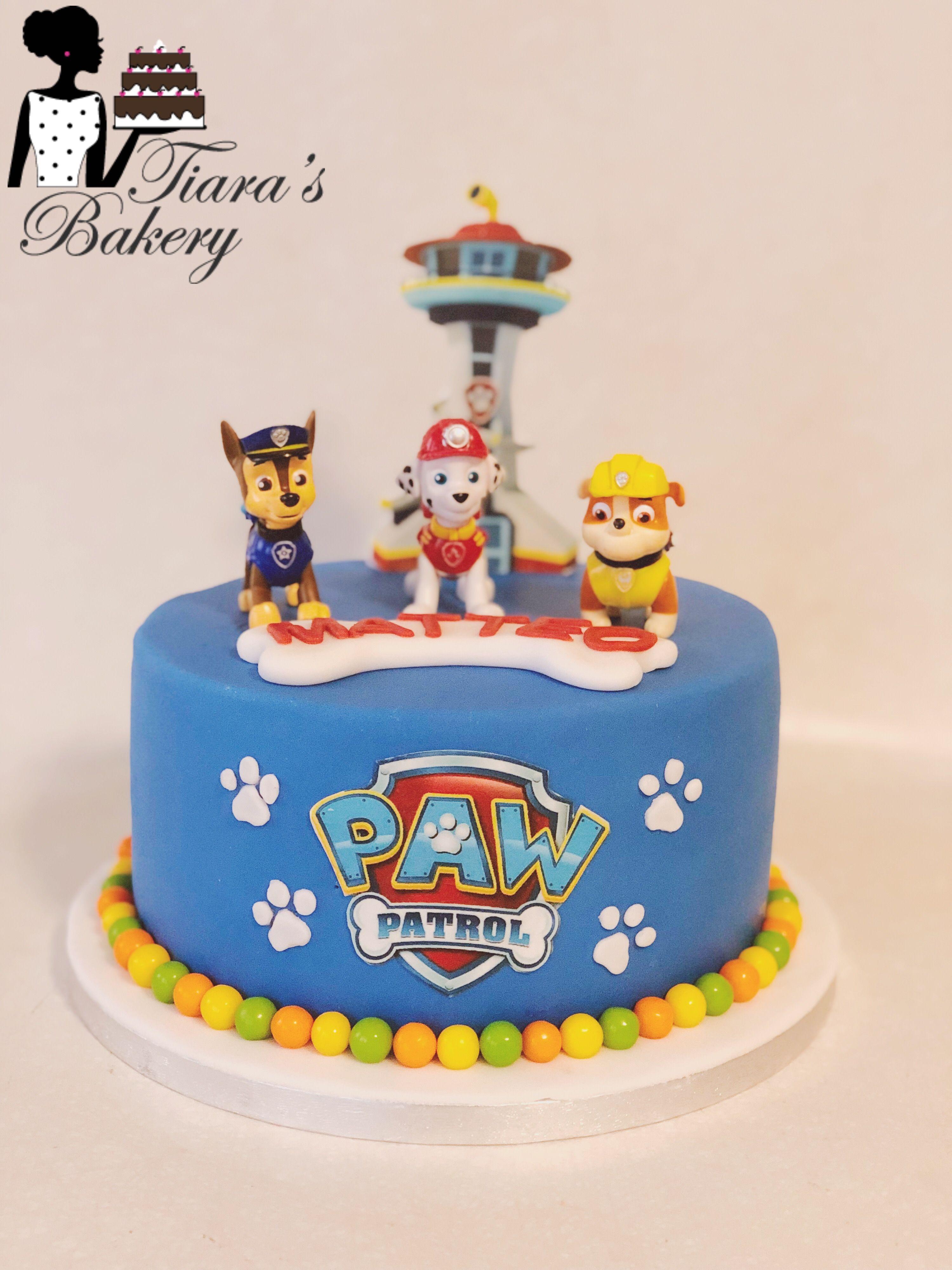 Paw Patrol Cake Paw Partrol Paw Patrol Torte Paw Patrol Party Paw Patrol Kuchen Kuchen Ideen Geburtstagstorte