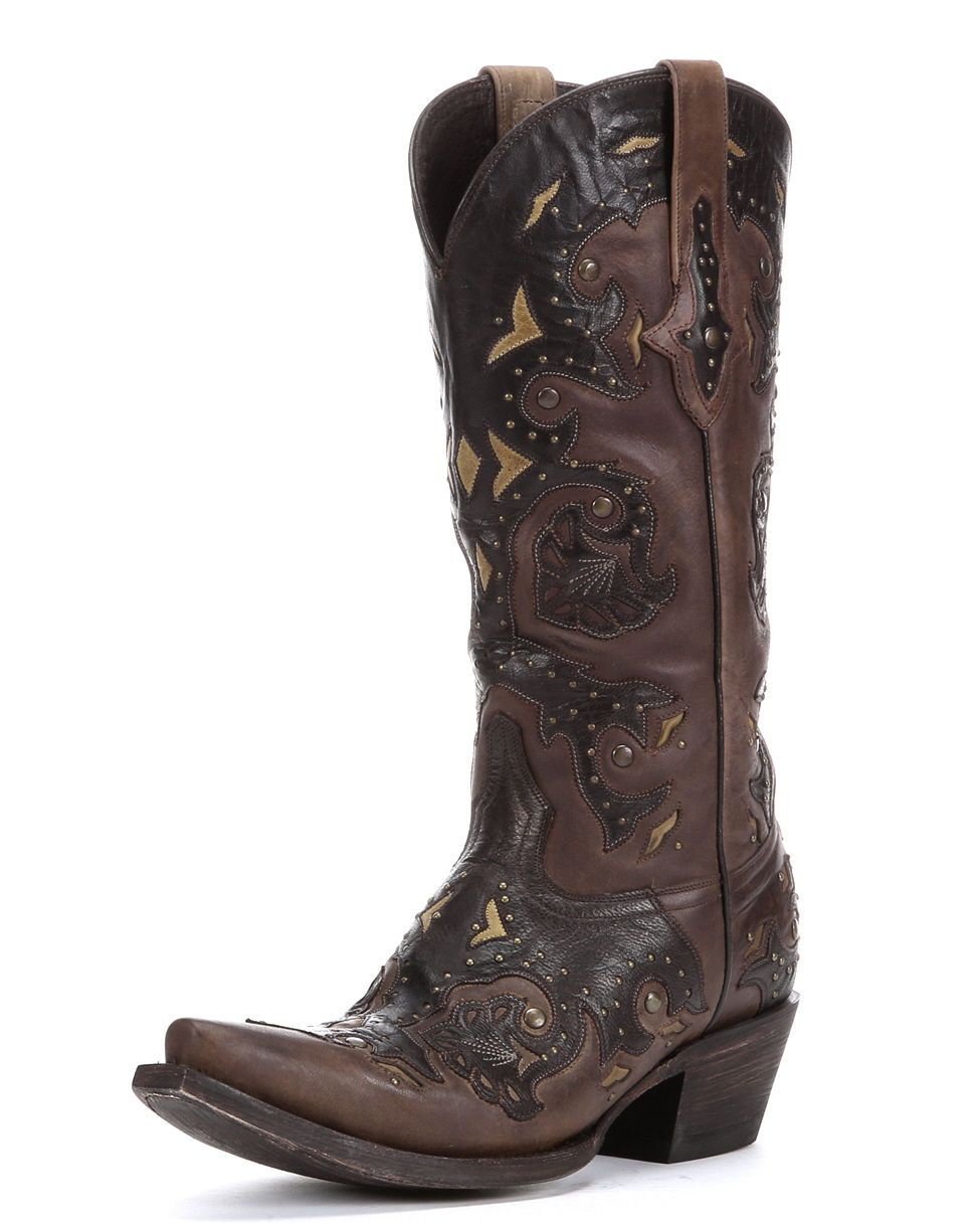 size 11 these are gorgeous lucchese s studded scarlet cafe