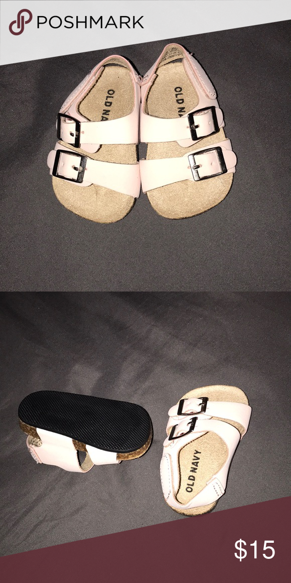 Baby Sandals In 2020 Baby Sandals Pink Sandals Navy Shoes