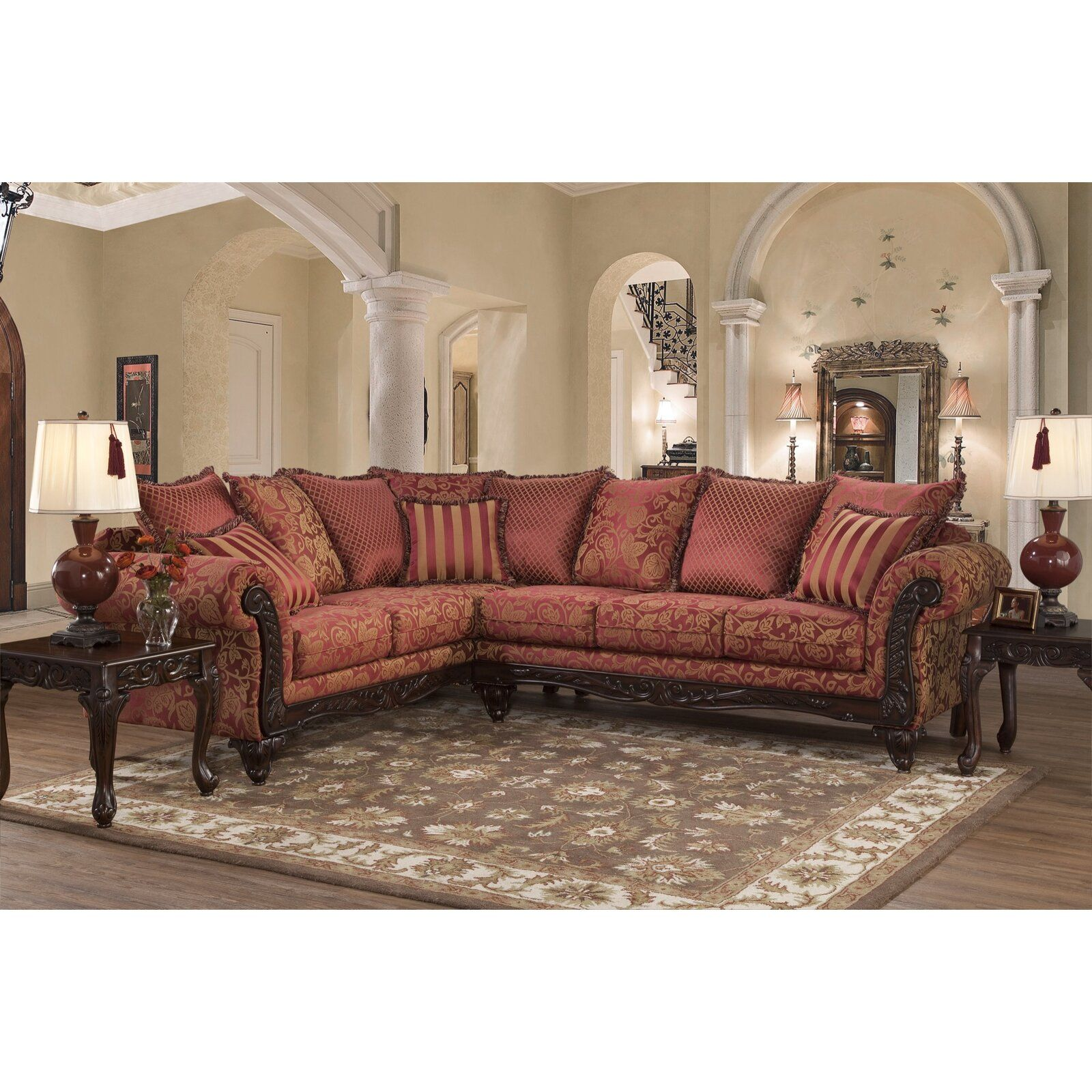 Best Astoria Grand Fairclough Sectional Wayfair Sectional 640 x 480