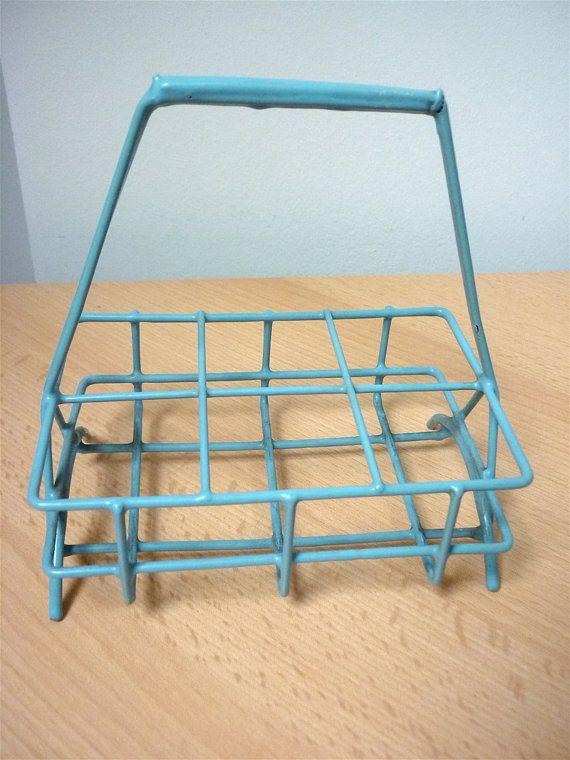 Vintage Wire Caddy / For Crafts Bathroom by NordicCountryVintage ...