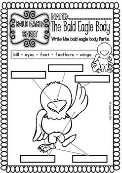 Bald Eagle Ready To Print Easy Readings And Worksheets American Symbols Unit Easy Reading Bald Eagle