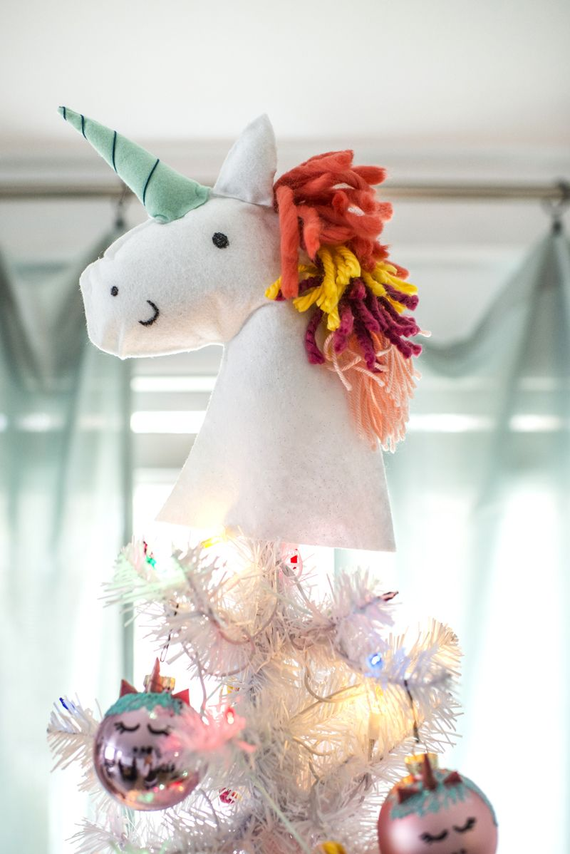 Unicorn Christmas Tree A Subtle Revelry