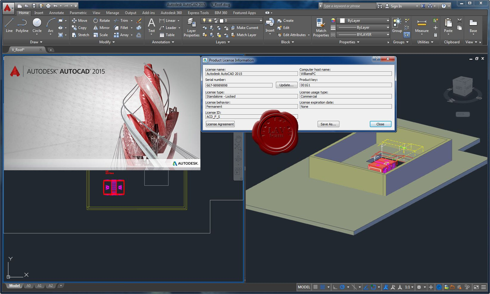 autodesk autocad 2015 serial number free download
