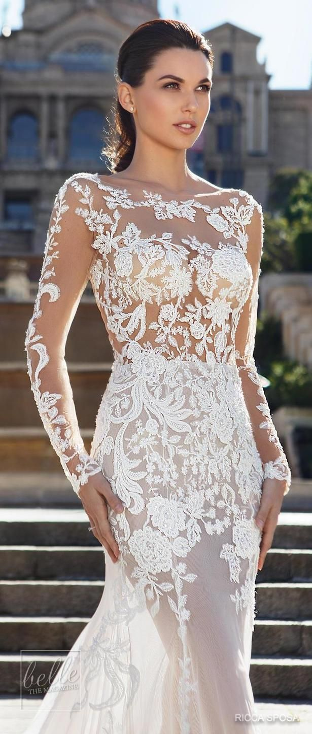 Ricca Sposa Wedding Dress Collection  ucHola Barcelonaud in