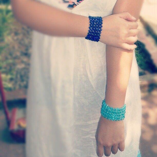 #fashion #wristband #blue #love #cute #elusivewristbands - @badasskicker- #webstagram