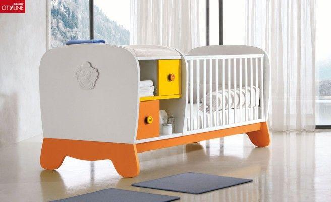 Composiciones para cuarto de bebés Clown. Cunas, muebles de servicio ...