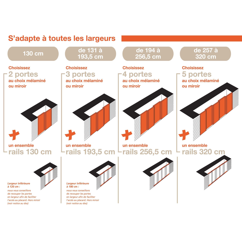 Porte De Placard Coulissante Origami Blanc Spaceo L 67 X H 250 Cm Image Zoomee Basement Remodeling Basement Shelving Basement Gym