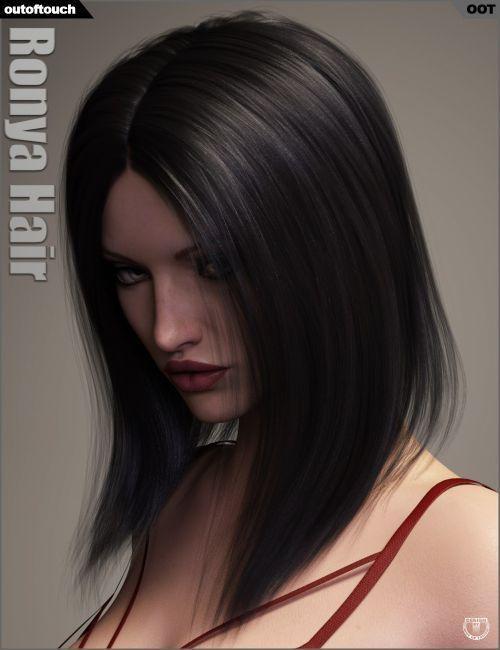 Ronya Hair 3d Models For Poser And Daz Studio Daz Studio
