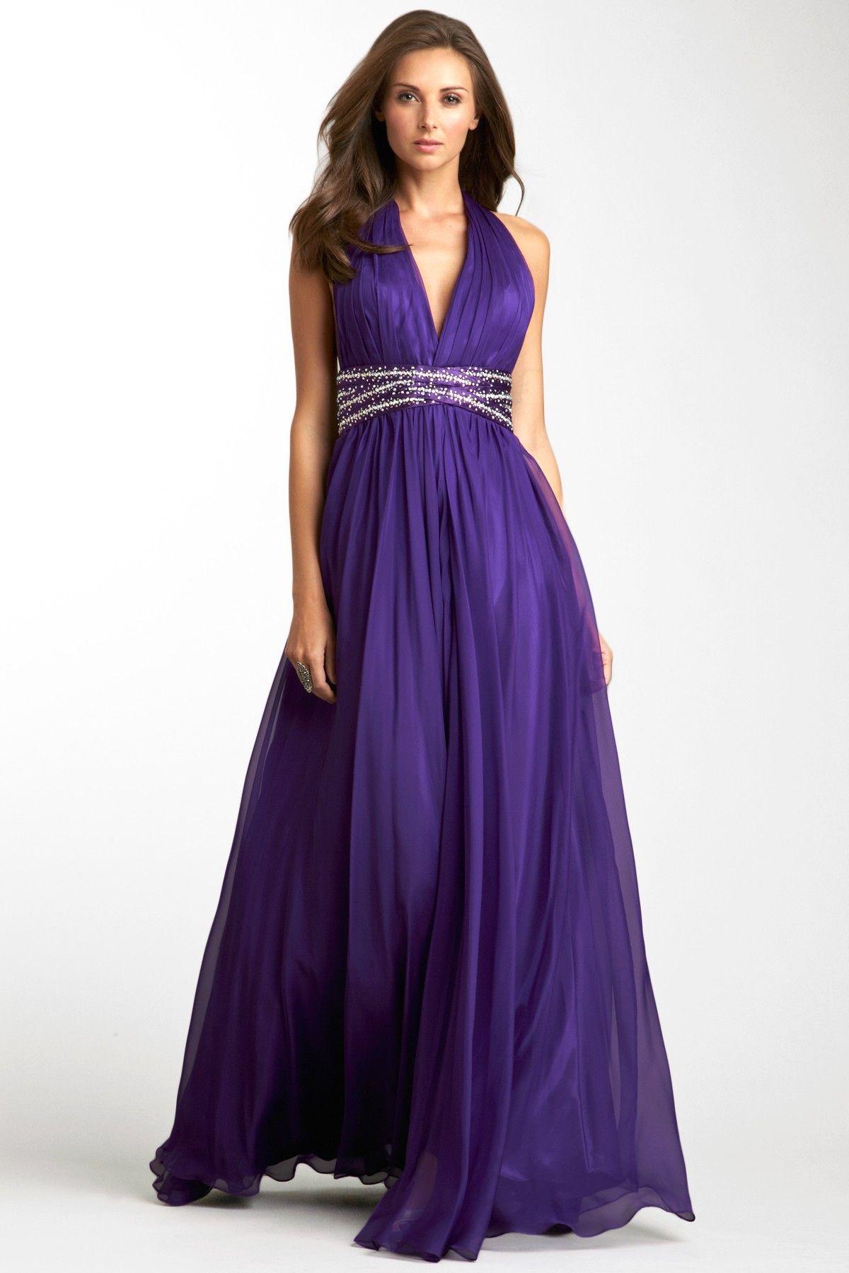 Pleated Goddess Gown on HauteLook | Absolutely Love It | Pinterest ...