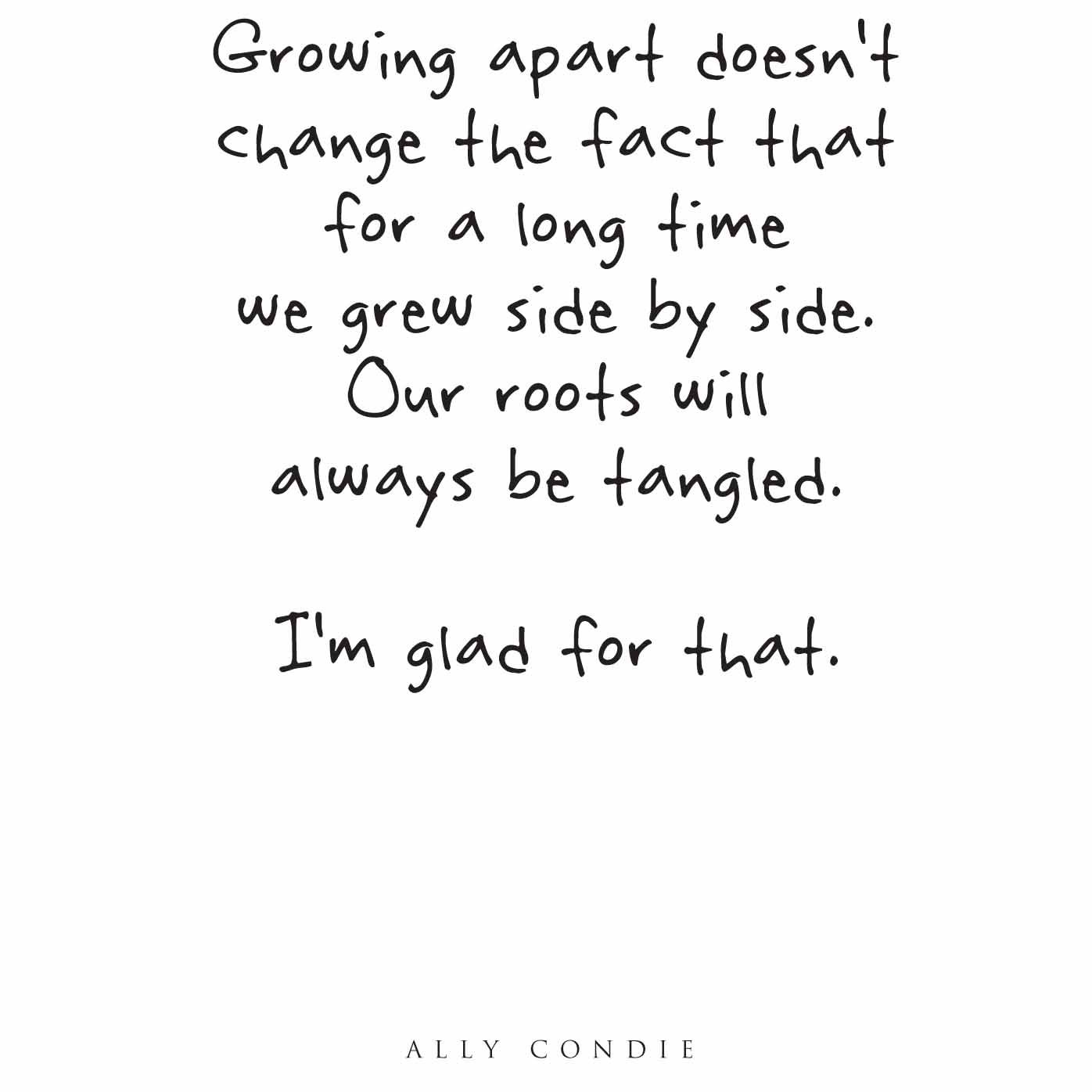 pin by spanish butterfly on life growing apart quotes