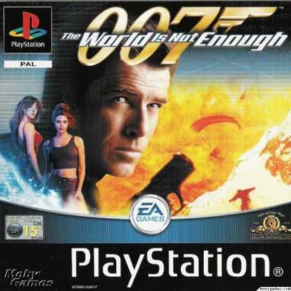 Playstation Games 007 The World Is Not Enough Jogos De