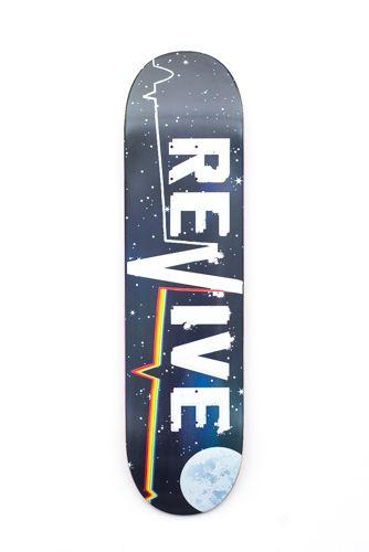 4f73ecbb Space Lifeline - Deck - Revive Skateboards   George   Skateboard ...