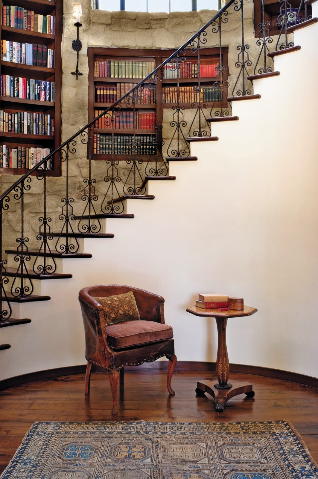 LIBRARY STAIRCASE, love!