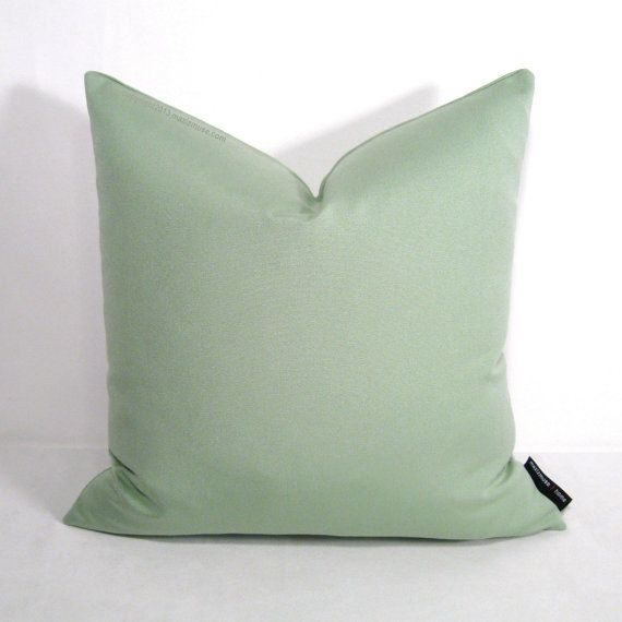 Outdoor Pillow Inserts Celadon Sunbrella Pillow For Indoor And Outdoor Spaces#mazizmuse