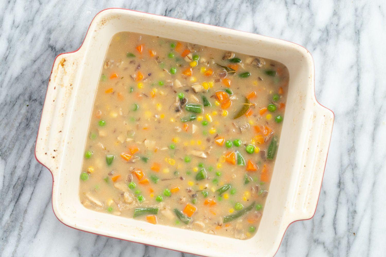 Vegan Pot Pie With Biscuit Topping Recipe Vegan Pot Pies Stuffed Peppers Veggie Pot Pie