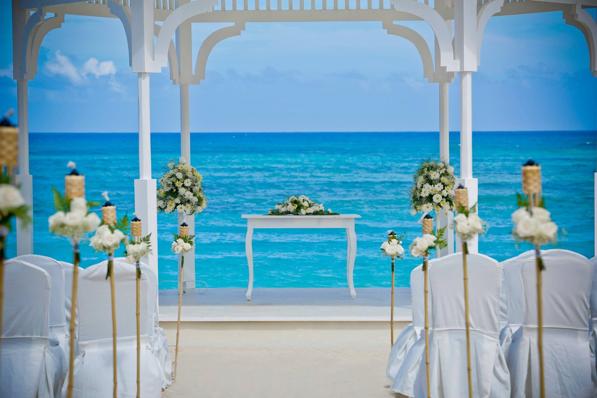 Wet Bar Wedding Reception Majestic Colonial Punta Cana Venue Pinterest And