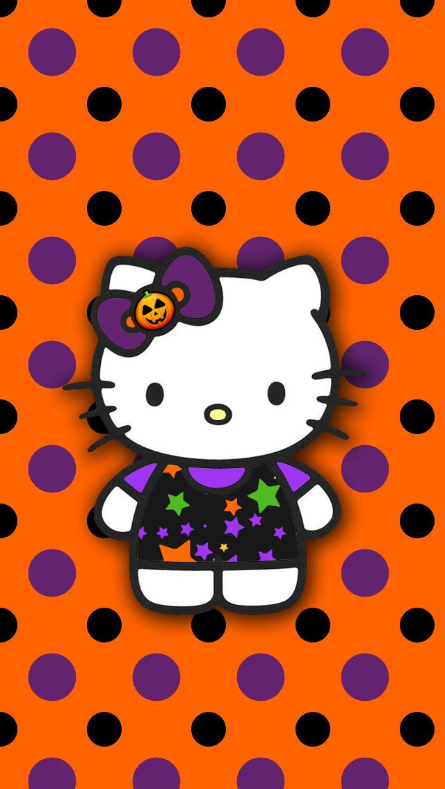 Hello Kitty Fall Phone Wallpaper Google Search In 2020 Hello Kitty Halloween Hello Kitty Art Hello Kitty Backgrounds
