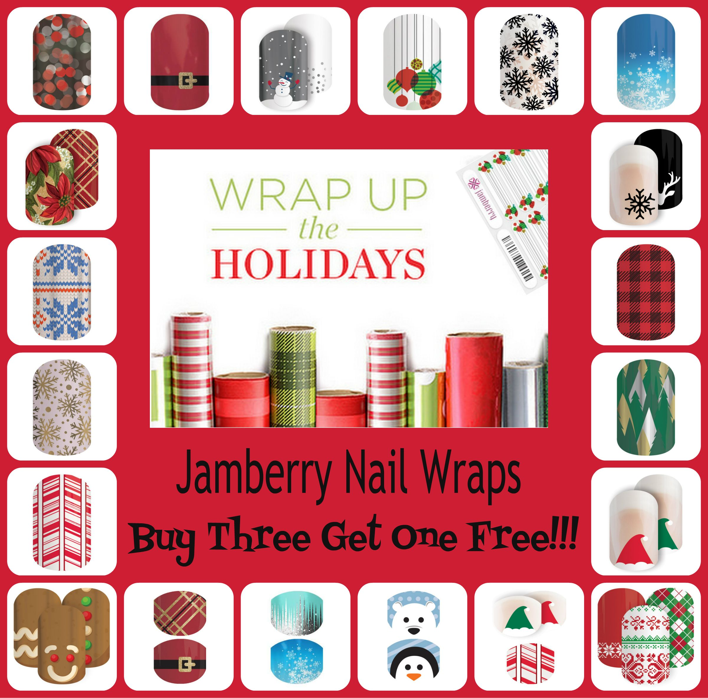 Jamberry Christmas Collage