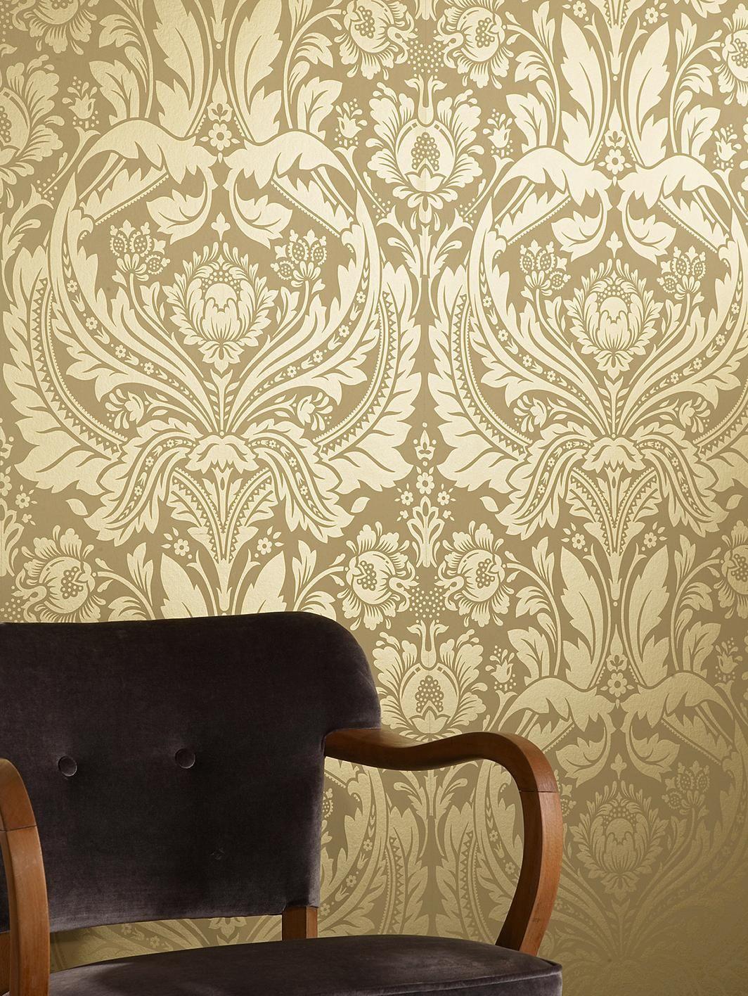 Desire Wallpaper - Mustard/Gold, http://www.very.co.uk/graham-brown-desire-wallpaper-mustardgold/772770614.prd