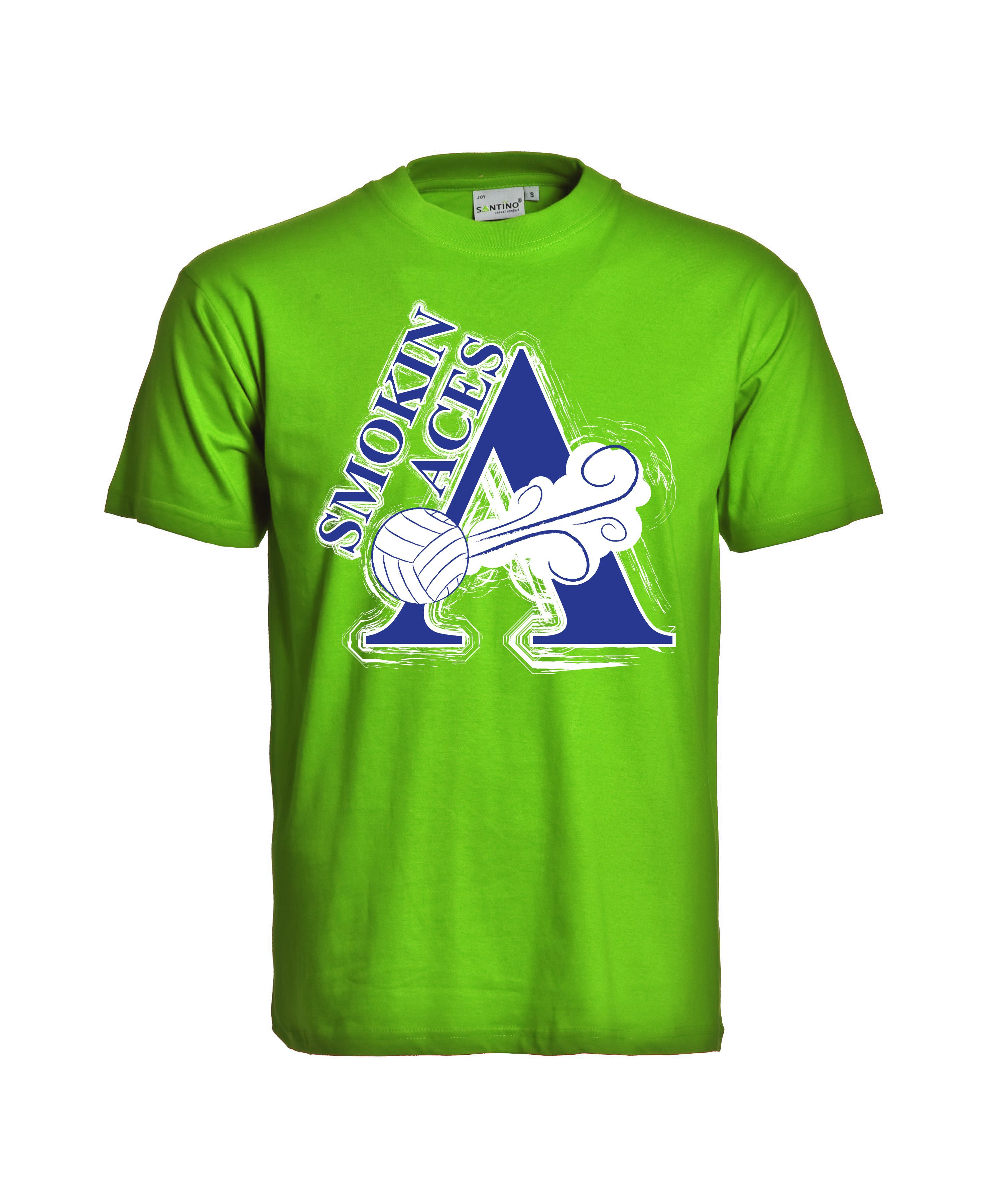 Smokin Aces Volleyball 2010 Mens Tops Mens Tshirts T Shirt