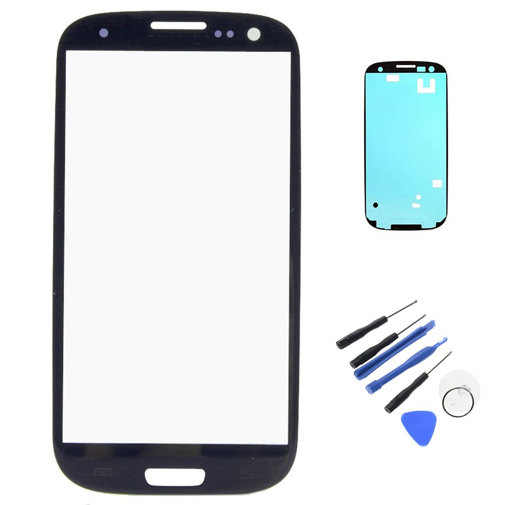 New For Samsung Galaxy S3 I9300 Outer LCD Touch Screen Front Glass ...