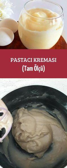 Pastacı Kreması (Tam Ölçü) #pizzateig