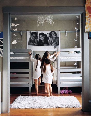 Make Two Rooms Into One With The Parion Walls Room For Beds And Sitting Area Love