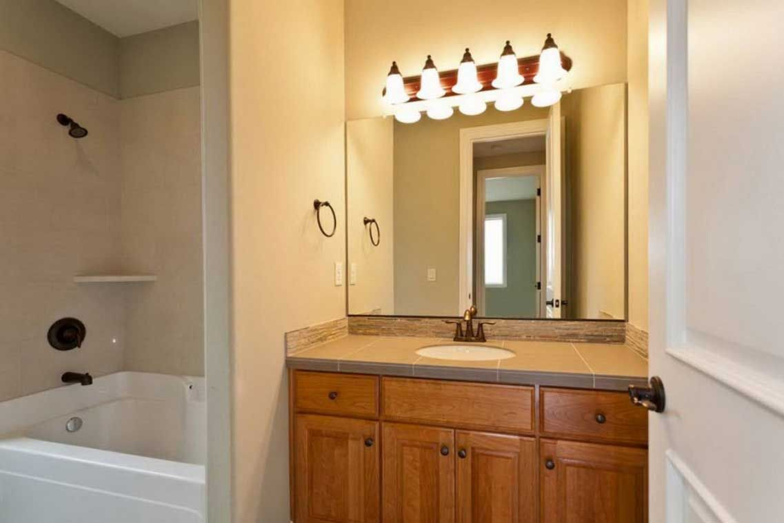 bathroom over mirror wall lights | House Interior Design | Pinterest ...