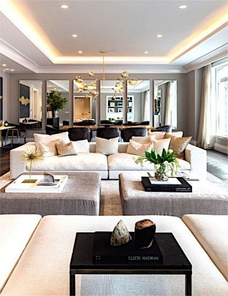 10 Luxury New Home Decoration Ideas That Inspirational Luxury Living Room Apartment Interior Design Contemporary Home Decor